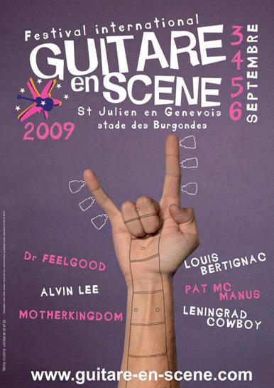 Affiche Guitare en Scène 2009