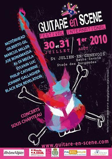 Affiche Guitare en Scène 2010