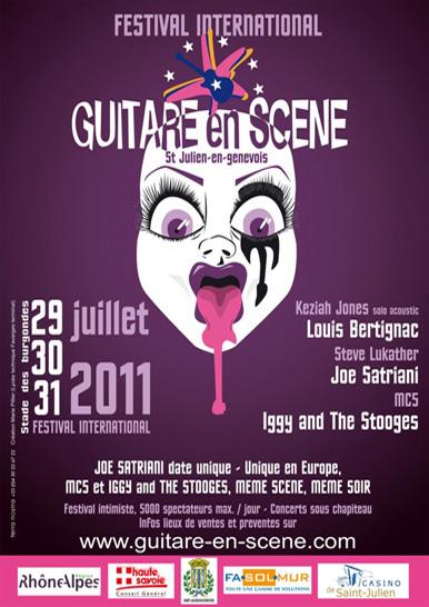 Affiche Guitare en Scène 2011