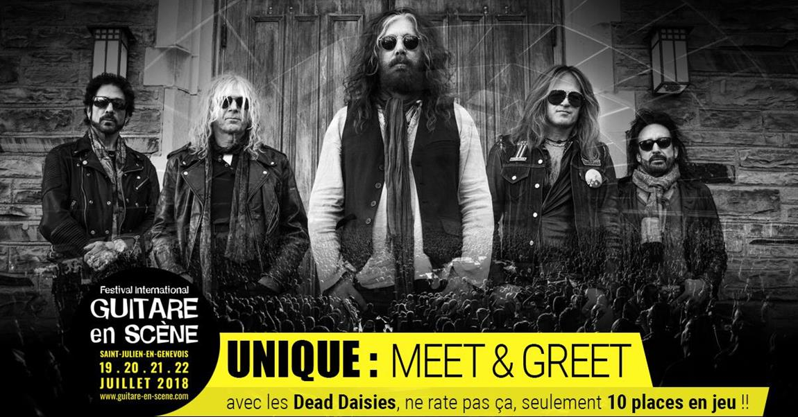 Meet and Greet : The Dead Daisies