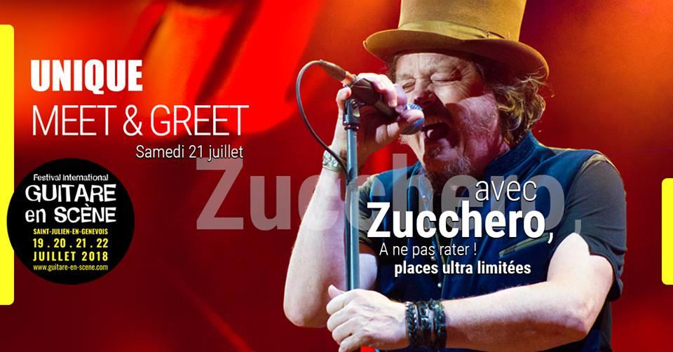 Meet and Greet : Zucchero