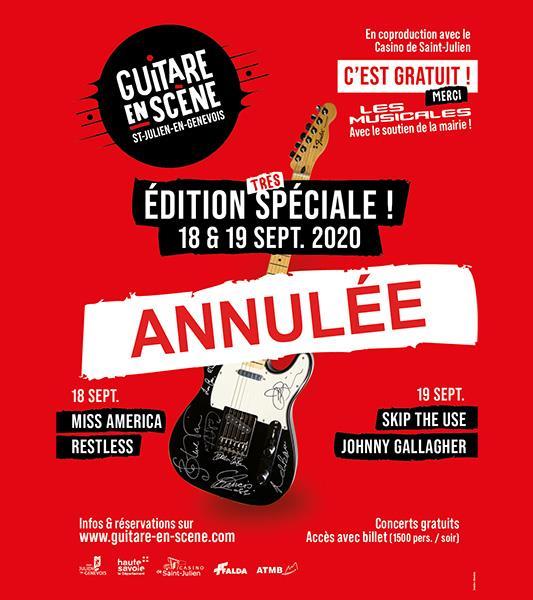 Edition spéciale 2020 : ANNULÉE !