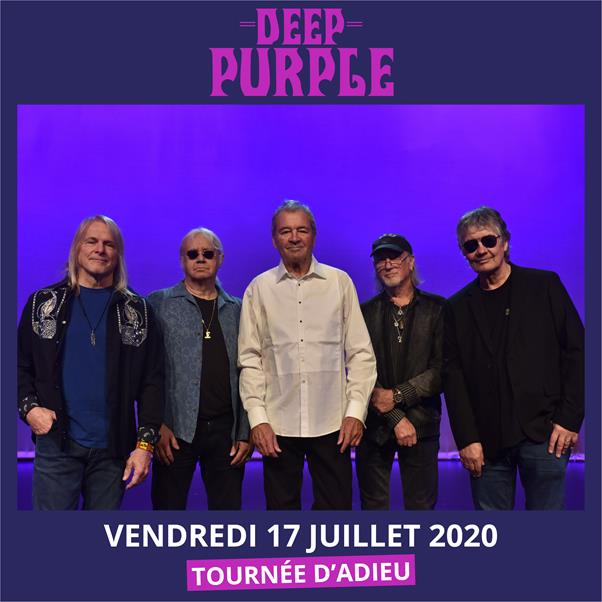 DEEP PURPLE À GUITARE EN SCÈNE 2020