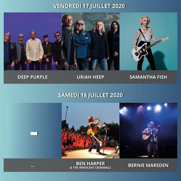 Ben Harper, Uriah Heep... La suite de la programmation 2020 !