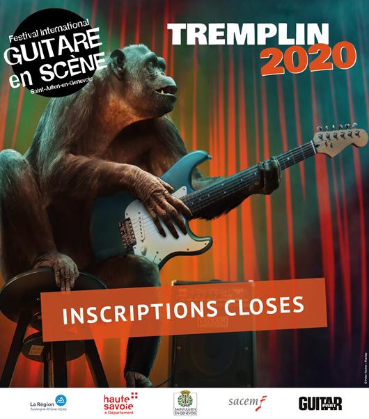 INSCRIPTIONS TREMPLIN 2020 FERMÉES
