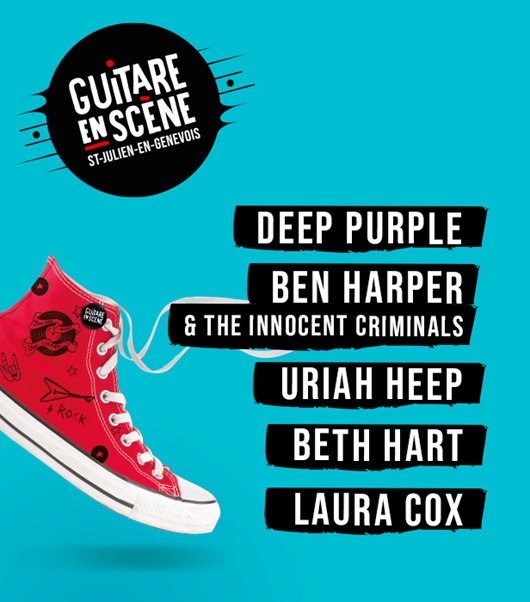 Deep Purple, Ben Harper, Uriah Heep... Présents en 2022 !
