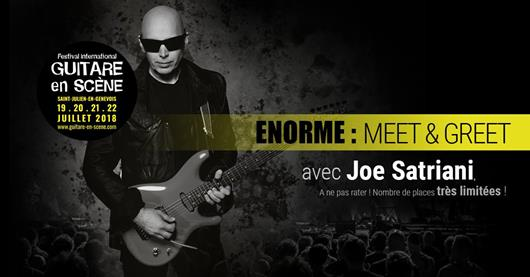 Meet and Greet : Joe Satriani