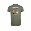 T-shirt homme - ges kaki chiné - Photo