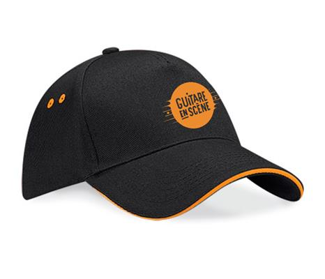 Casquette orange - Photo 1