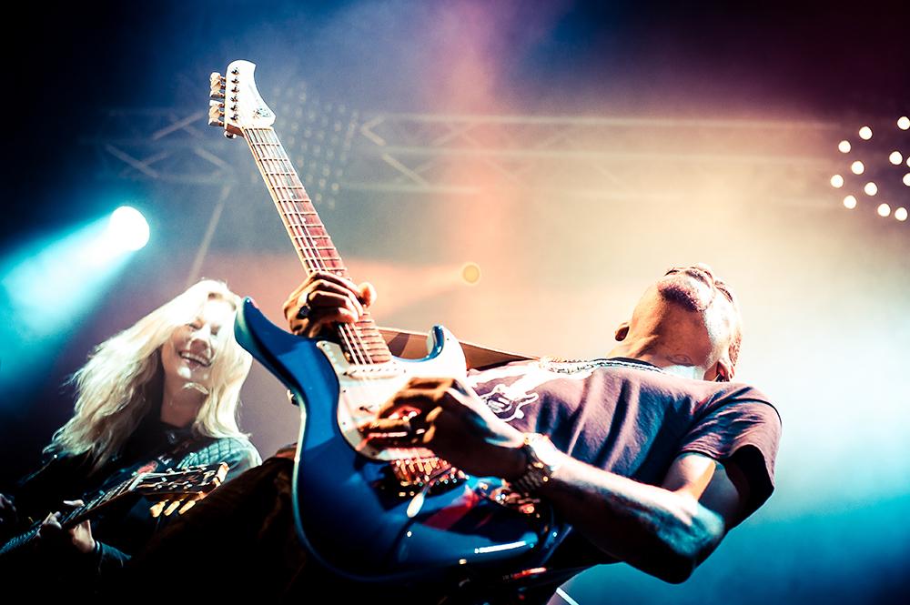 Jam Joanne Shaw Taylor & Eric Gales Guitare en Scène