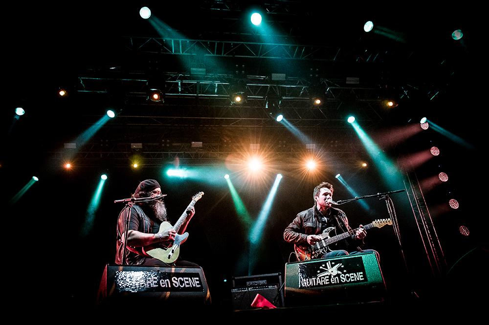 Jam Aynsley Lister Johnny Gallagher Guitare en Scène