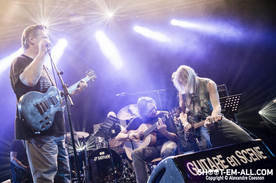 Jam Speeding Amigo Morse Guitare en Scène