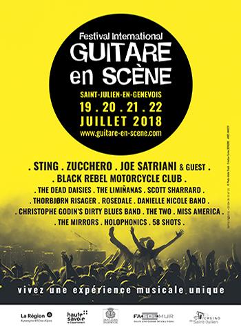 Affiche Guitare en Scène 2018
